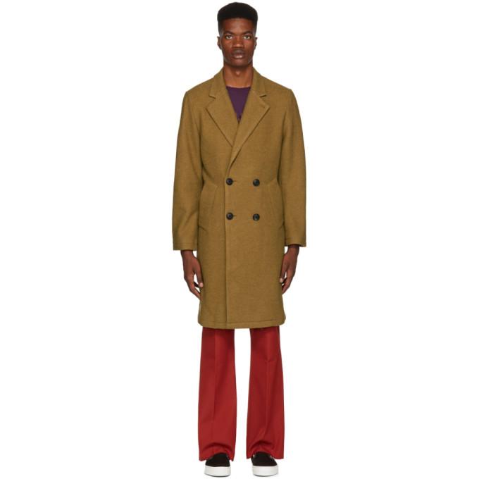 Saturdays NYC Khaki Saul Top Coat
