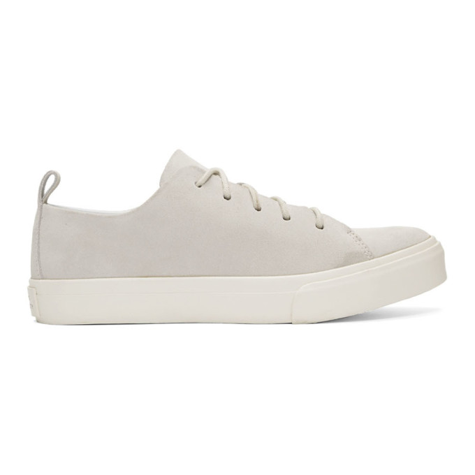 Saturdays NYC Baskets en suede blanches Mike Low