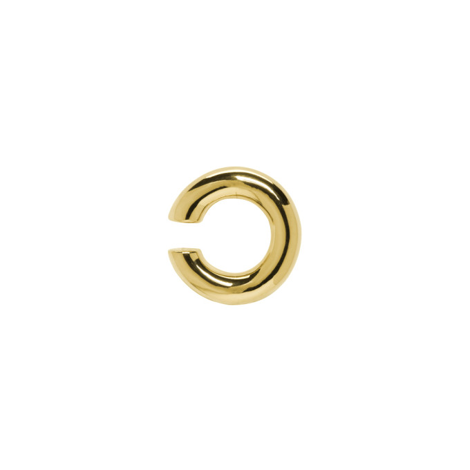 Image of Saskia Diez Gold Bold Ear Cuff