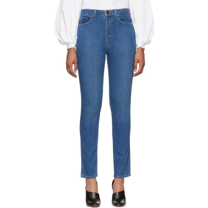 Khaite Blue Vanessa Jeans