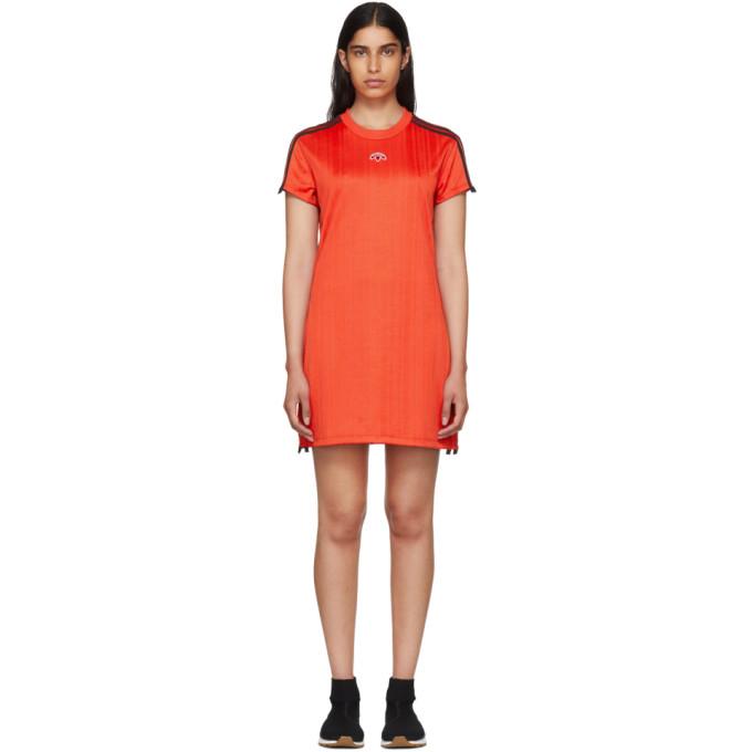 adidas Originals by Alexander Wang Red Track Dress