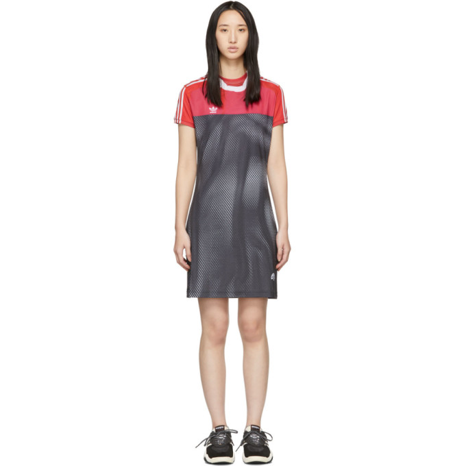 ADIDAS ORIGINALS BY ALEXANDER WANG Opening Ceremony Photocopy Dress in Lushpink