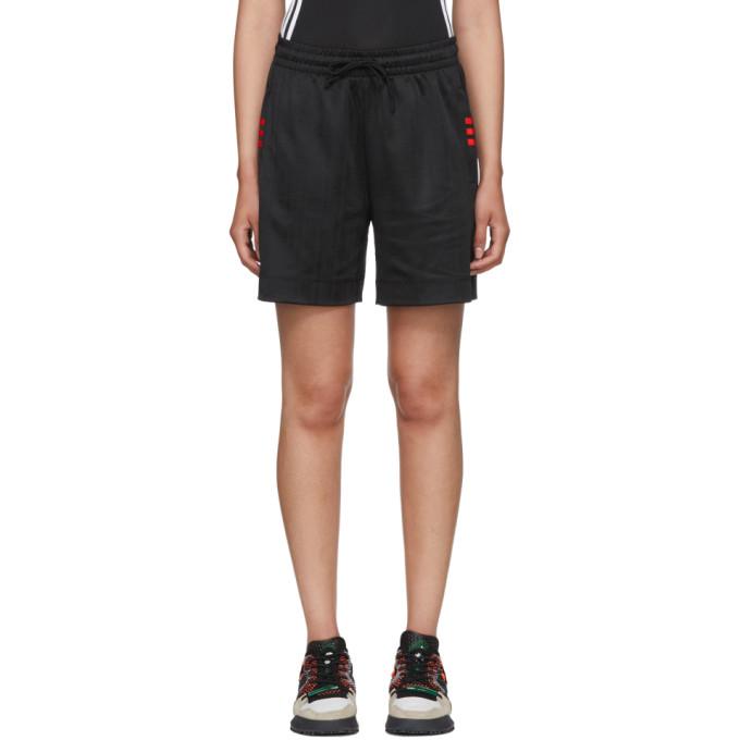 adidas Originals by Alexander Wang Black Soccer Shorts