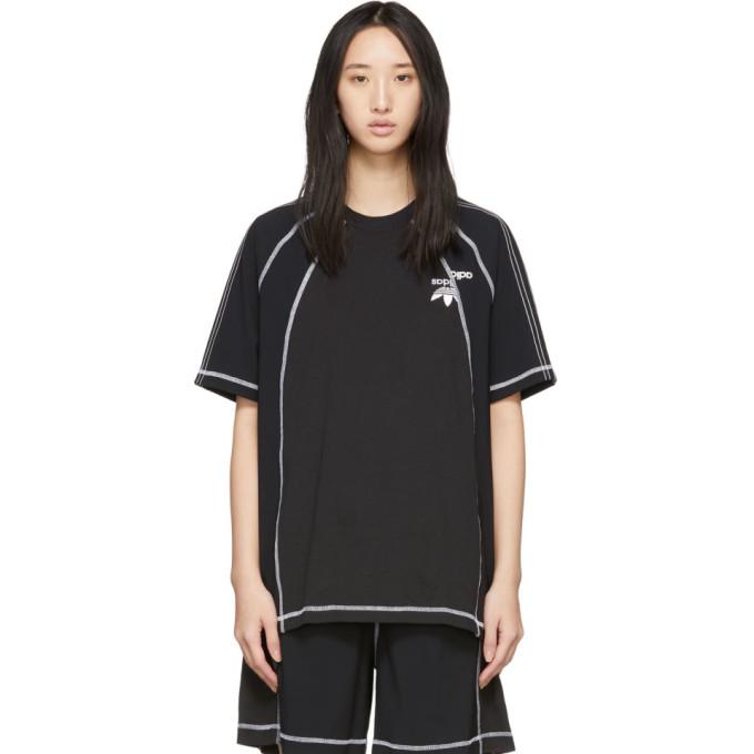 Image of adidas Originals by Alexander Wang Black AW T-Shirt