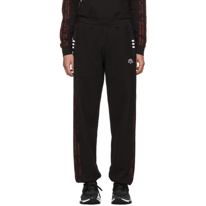 Image of adidas Originals by Alexander Wang Black AW Jogger Pants