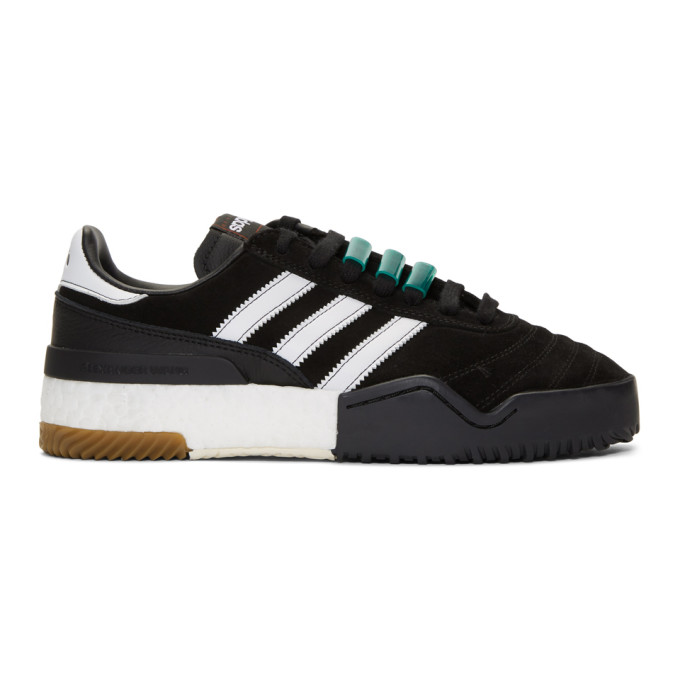 Image of adidas Originals by Alexander Wang Black AW BBall Soccer Sneakers