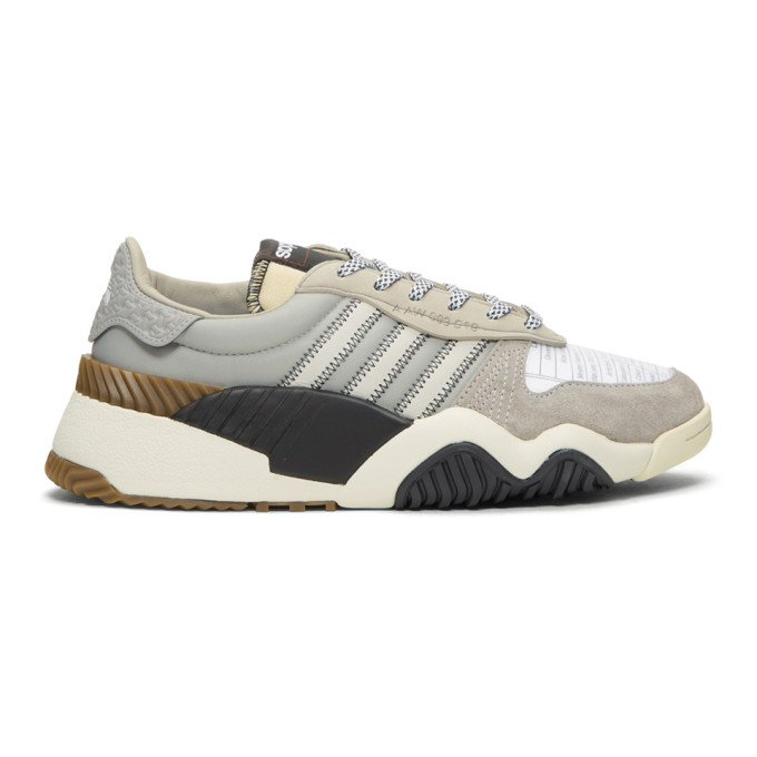 adidas Originals by Alexander Wang Grey Turnout Trainer Sneakers