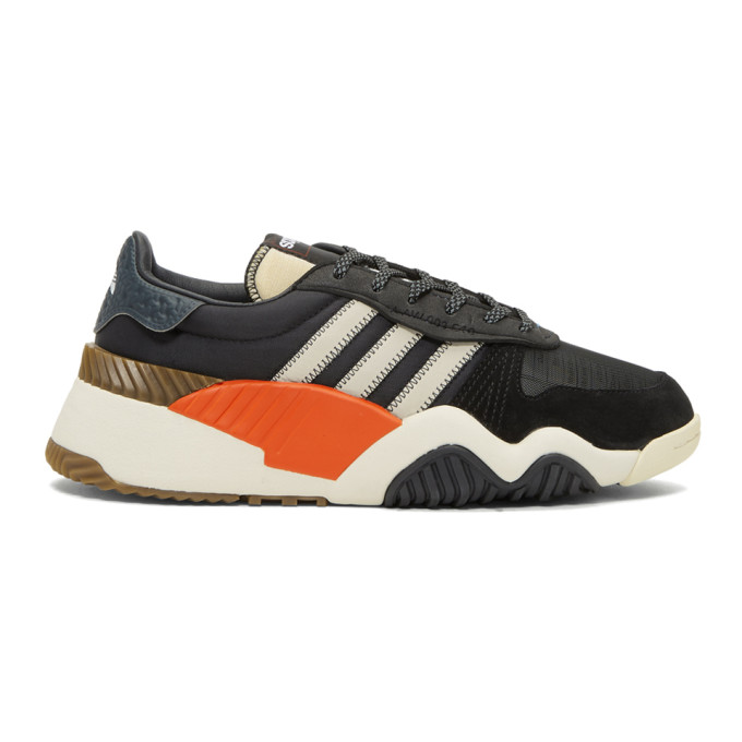 Image of adidas Originals by Alexander Wang Black AW Turnout Trainer Sneakers
