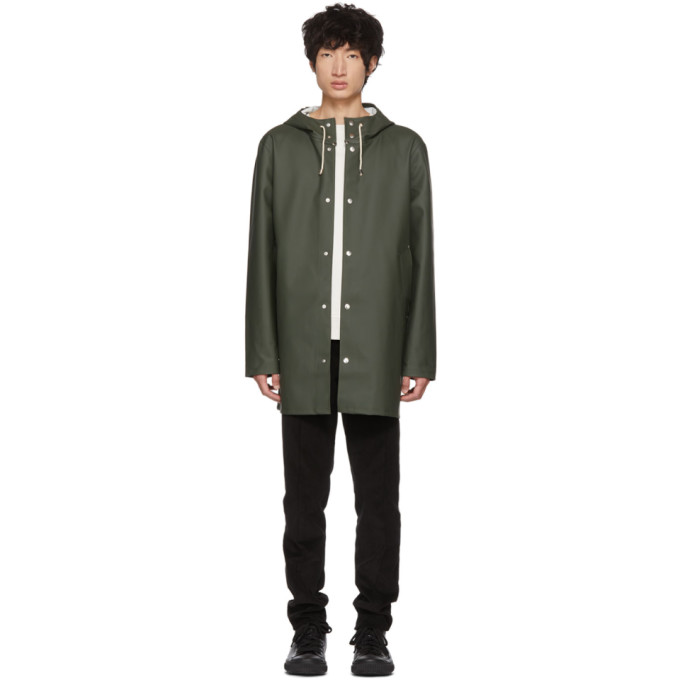Image of Stutterheim Green Stockholm Raincoat