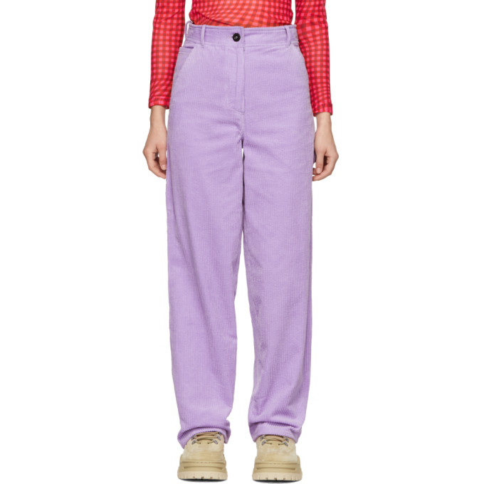 Ashley Williams Pantalon mauve Work