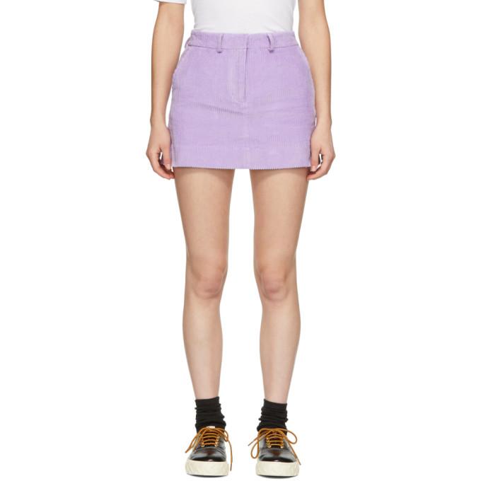 Ashley Williams Mini-jupe mauve Executive