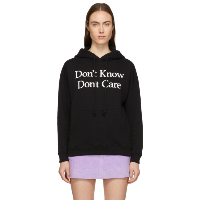 Ashley Williams ASHLEY WILLIAMS BLACK DONT KNOW HOODIE