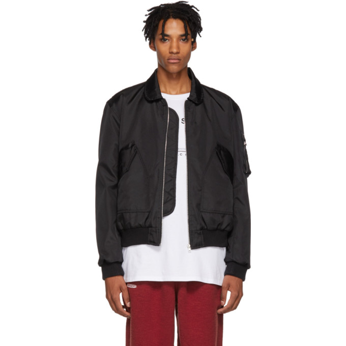 RESORT CORPS Resort Corps Black To Hell And Back Police Jacket
