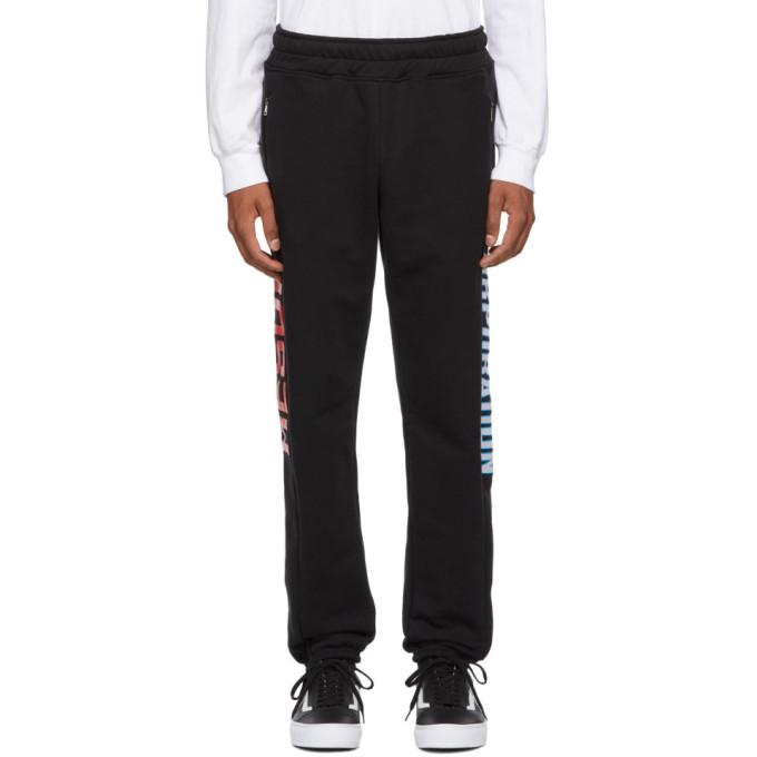 RESORT CORPS Resort Corps Black Goon Lounge Pants