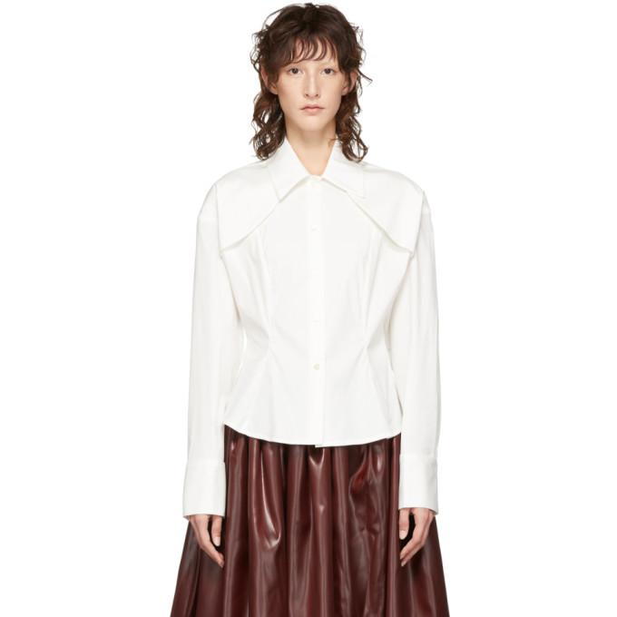 9c169802a436c8 Ovelia Transtoto White Tina Shirt