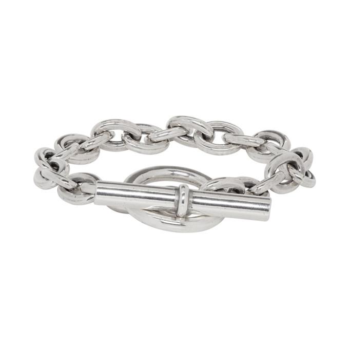 NONNATIVE Nonnative Silver End Edition Small Dweller Bracelet in 014 Silver