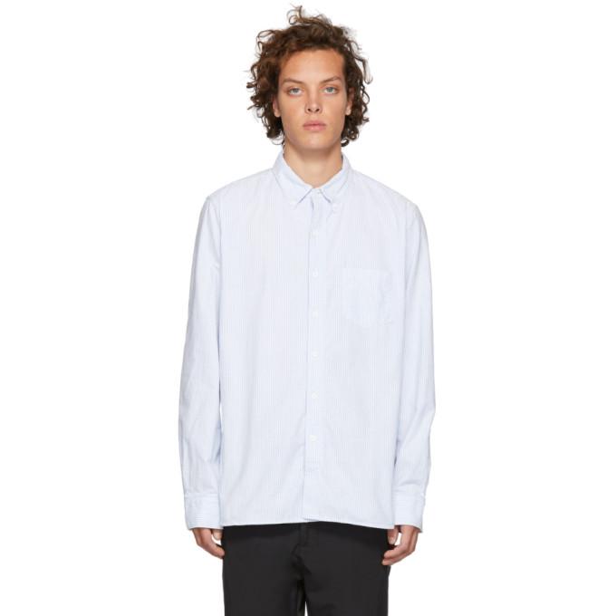 NONNATIVE Nonnative Blue Dweller Shirt in 054 Blue