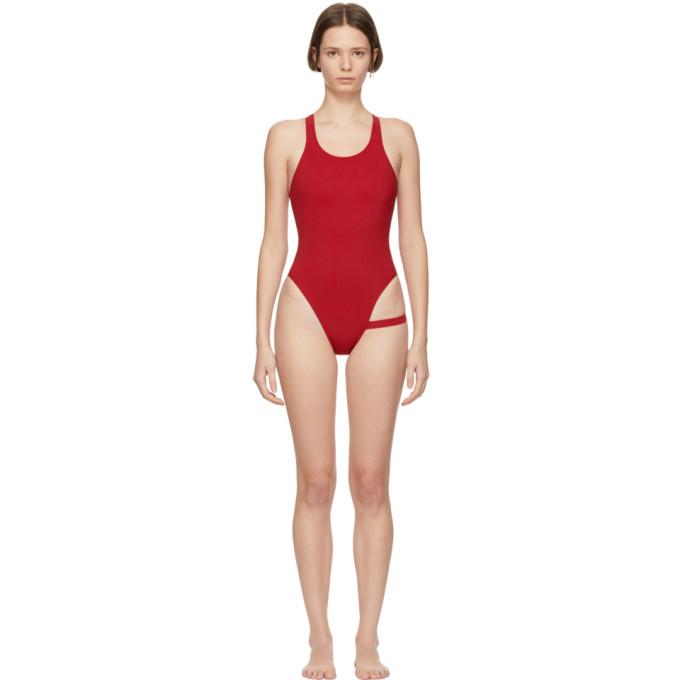 MARIEYAT Marieyat Red Shanice Swimsuit