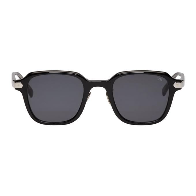 Image of Eyevan 7285 Black 'Model 728' Sunglasses