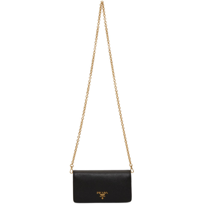Prada Black Mini Phone Bag