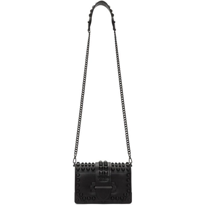 Prada Black Mini Cahier Bag