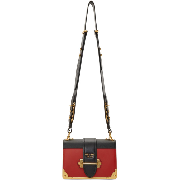 Prada Colorblocked Cahier Bag