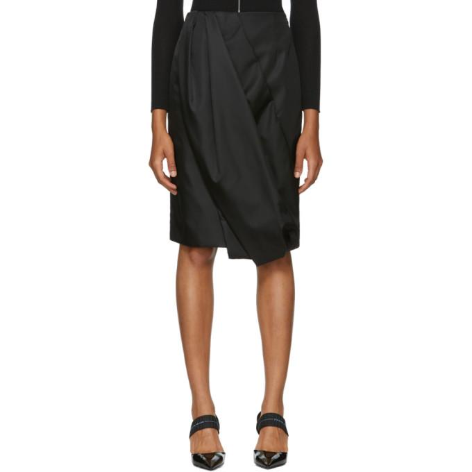Image of Prada Black Balloon Skirt