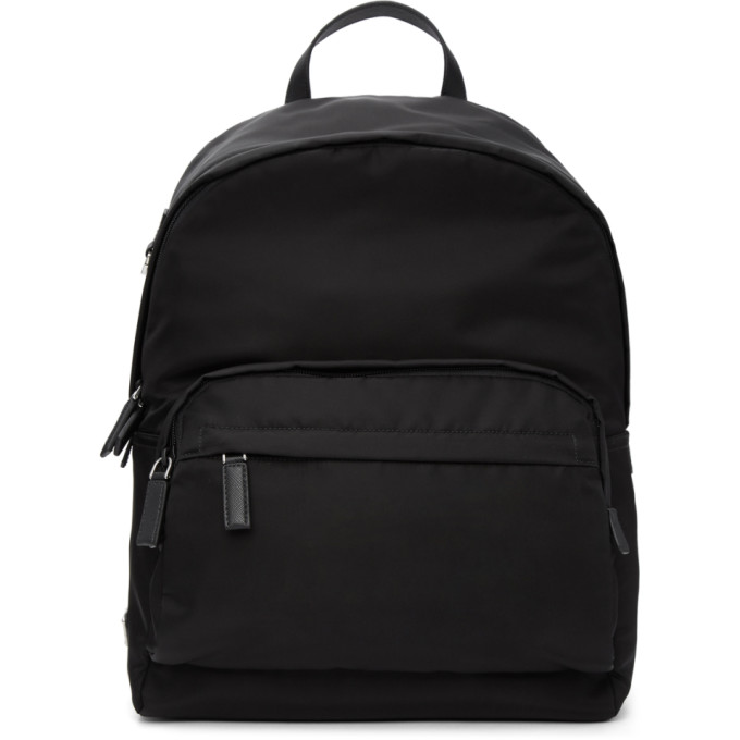 Prada Black Montagna Backpack