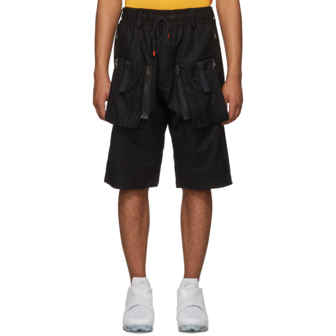 Image of NikeLab Black ACG Deploy Shorts