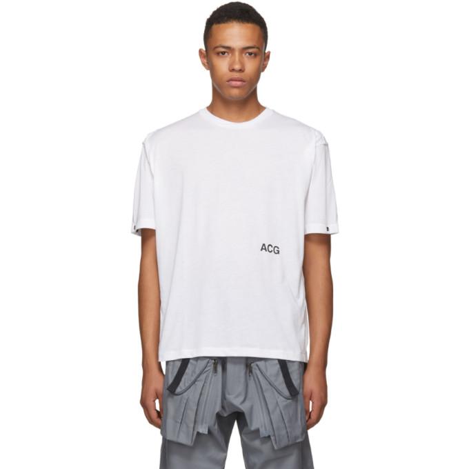 NikeLab ホワイト ACG バリアブル T シャツ