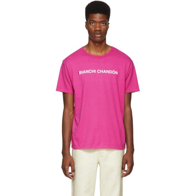 Bianca Chandon T-shirt rose Bianchi Chandon edition Tom Bianchi