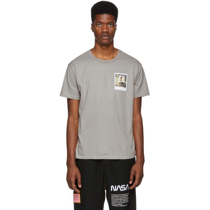 Bianca Chandon T-shirt gris Untitled, 067 Fire Island edition Tom Bianchi