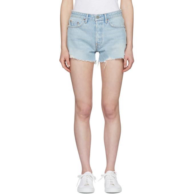 Grlfrnd Blue Helena Denim Shorts