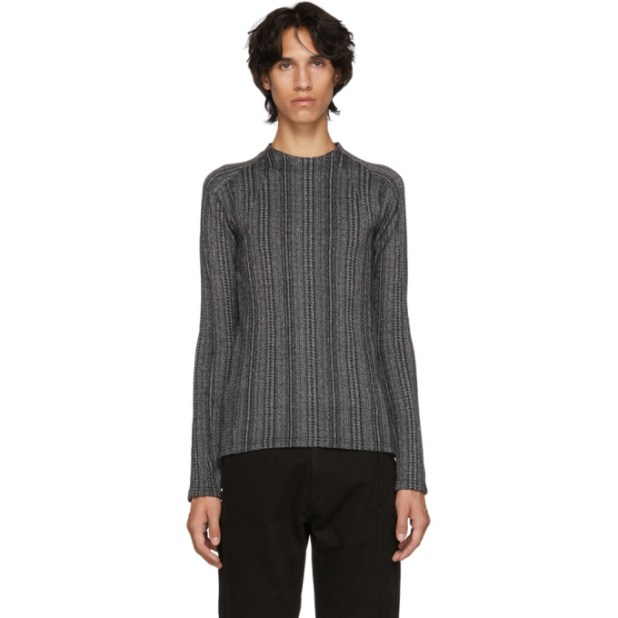 GMBH Slim-Fit Sweater in Metallic