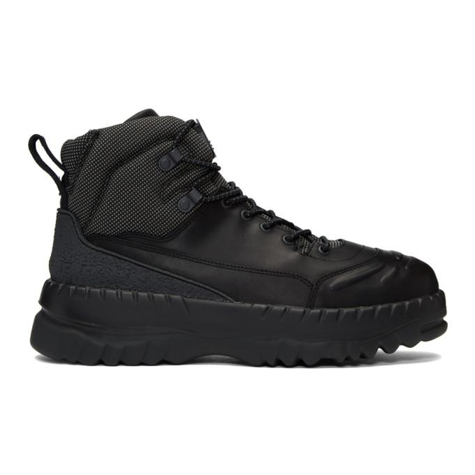 Image of Kiko Kostadinov Black Camper Edition Boots
