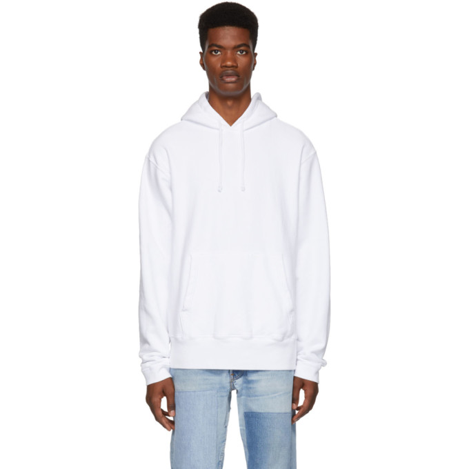PAA Paa White French Terry Hoodie