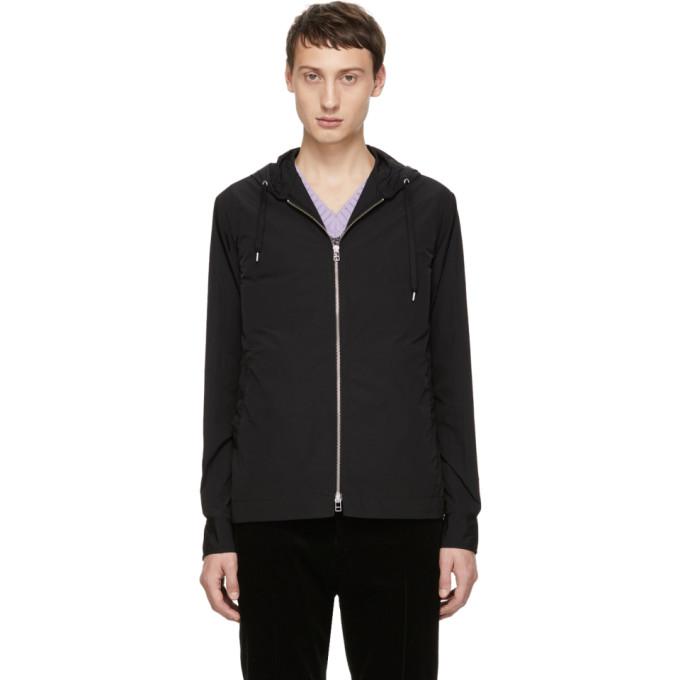 SCHNAYDERMAN'S Schnaydermans Black Hooded Overshirt Jacket