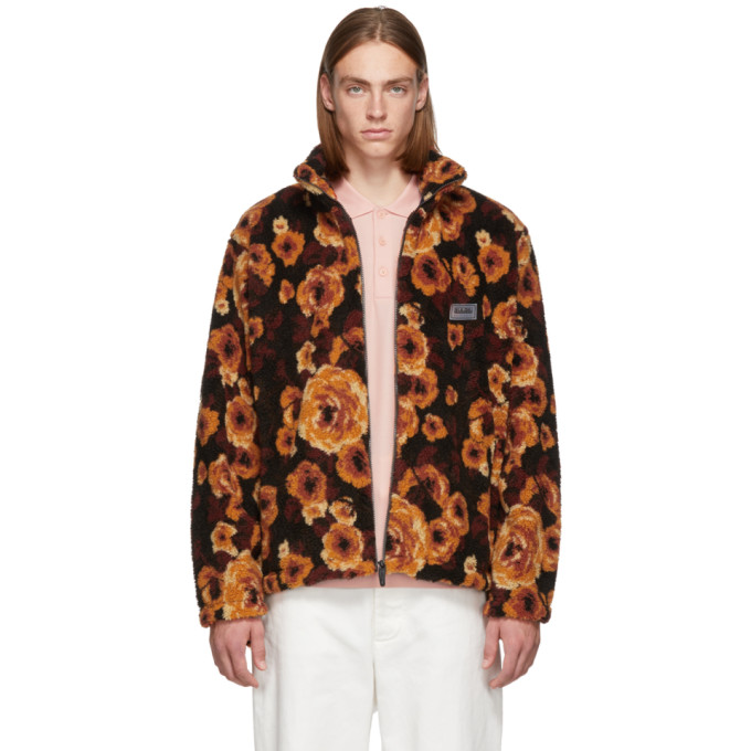 Napa By Martine Rose Floral Zipped Jacket - Brown In Brnfant92