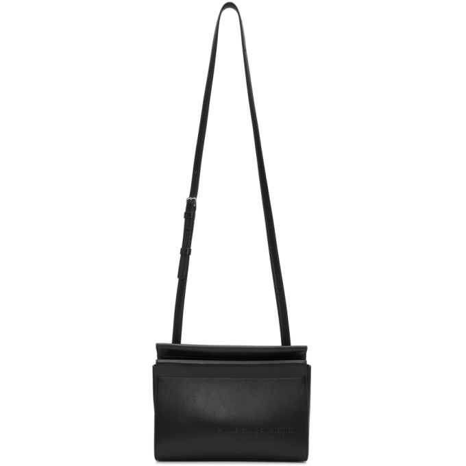Calvin Klein 205W39NYC Black Top Zip Cross Body Bag