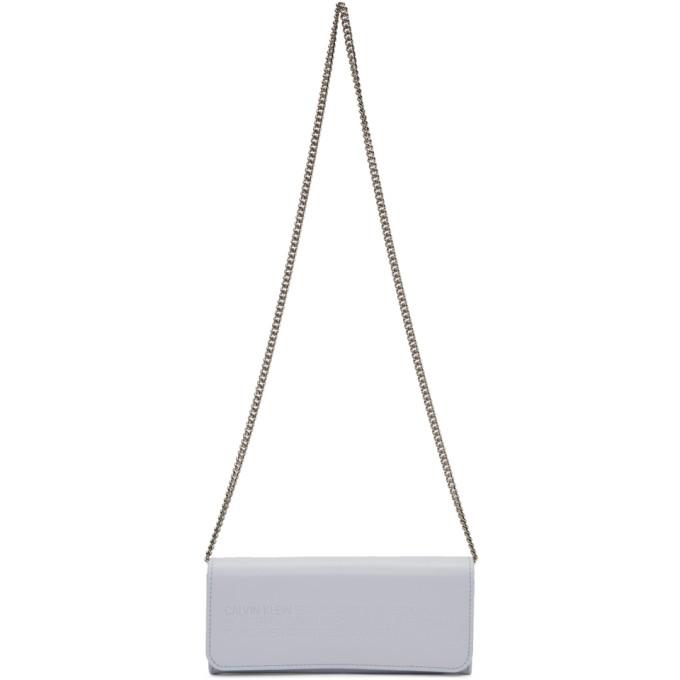 Calvin Klein 205W39NYC Blue Wallet Chain Bag