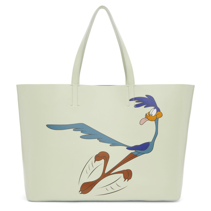 Calvin Klein 205W39NYC Green Road Runner Tote