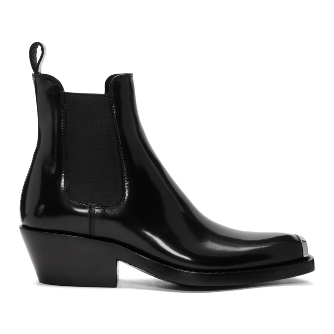Calvin Klein 205W39NYC Black Western Claire Boots