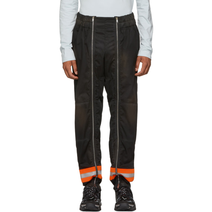 Image of Calvin Klein 205W39NYC Black Worker Trousers