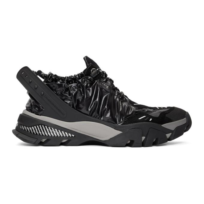 Calvin Klein 205W39NYC Black Nylon Carsdat 8 Sneakers