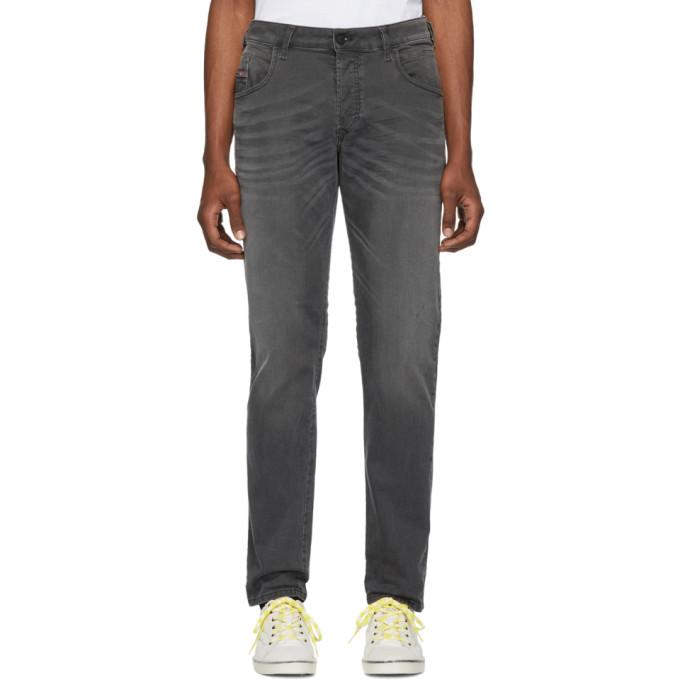 Image of Diesel Black Bazer Jeans
