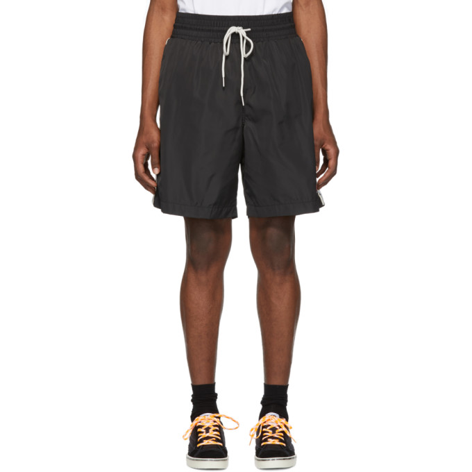 Image of Diesel Black Boxie Track Shorts