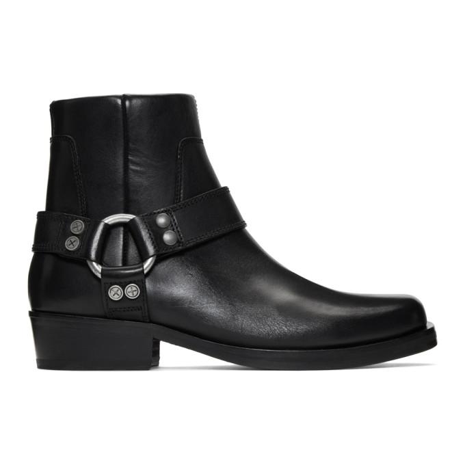 Image of Diesel Black D-Bioys Boots