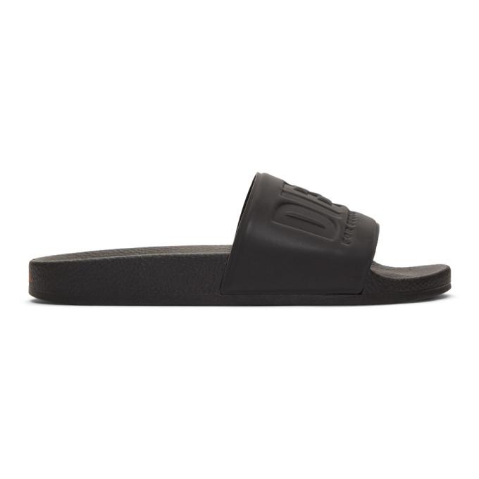 Diesel Sandales noires Sa-Valla