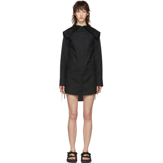 Image of Cecilie Bahnsen SSENSE Exclusive Black Ally Dress