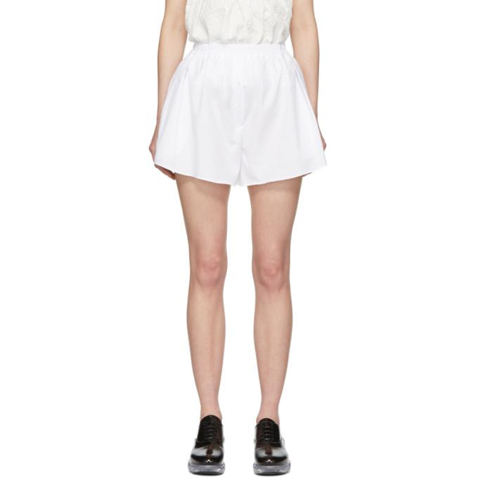Cecilie Bahnsen Shorts CECILIE BAHNSEN WHITE RANE SHORTS